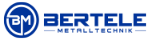 Bertele Metalltechnik | Reifenregale · Reifenwagen · Reifenregal-Anlagen · CNC Fräsen · Prototypen · Kleinserien Mobile Logo