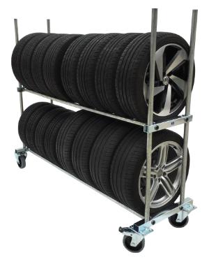 BMT-Reifenwagen-Profi-2-Ebenen-günstig-Motorsport-Reifentransportwagen
